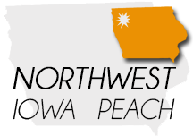 Logo Northwest Iowa Peach